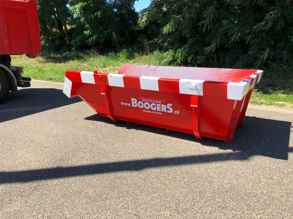 Boogers Recycling - 6m3 Container huren, snel veilig en gemakkelijk