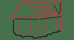 Container 10m³ gesloten